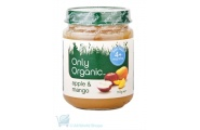 only organic apple and mango baby food