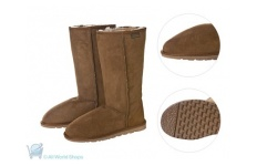 Oxford Full Calf Sheepskin Boots