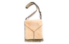 Babe Mini Sheepskin Handbag