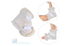 Medical Sheepskin Adjustable Heel and Elbow Pads