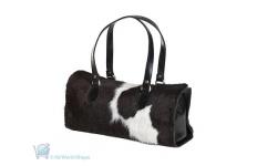 Florian Cowhide Leather Box Bag