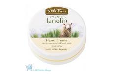 wild ferns lanolin hand cream with chamomile and aloe vera
