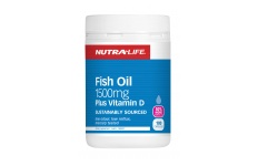 Fish Oil 1500+ Vitamin D- Nutra Life