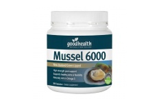 Mussel 6000 - New Zealand Green Lipped - Good health - 300 Capsules